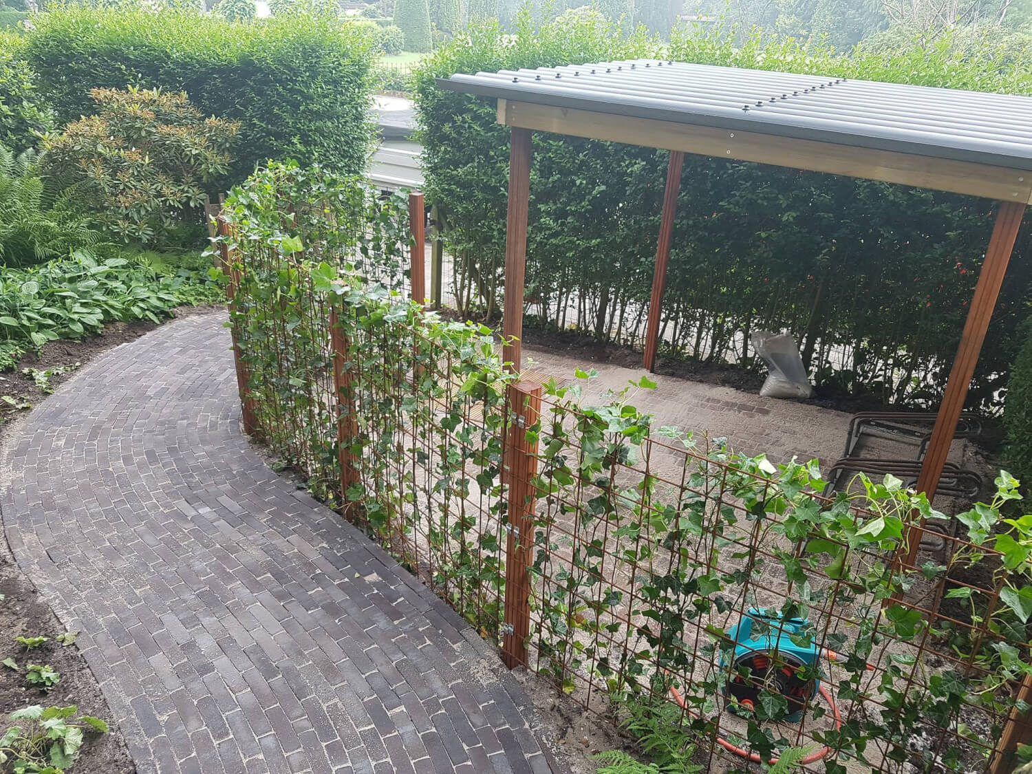 tuin bestrating